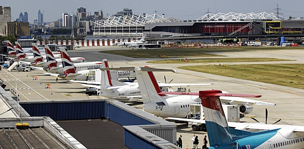 gillingham to london city airport